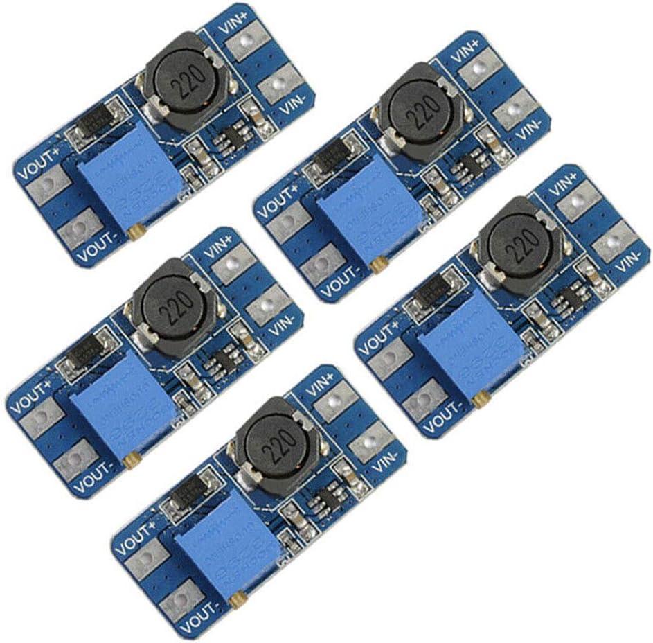 5pcs MT3608 DC-DC Step Up Power Apply Module Booster Voltage Power Module