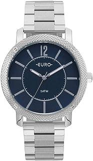 Relógio Feminino Euro Analógico Eu2036Ymi/3A Prata