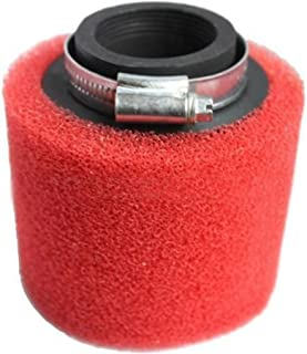 Beehive Filter Aftermarket 39mm Air Filter Cleaner 50cc 110cc 125cc 150cc 200cc ATV Quad Dirt Bike 125cc GB Kart Dune Color Red