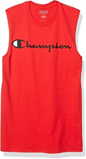 Champion Mens GT22H Graphic Jersey Muscle Sleeveless Shirt
