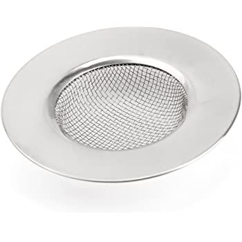 2 Unidades 11,3cm Filtro De Desag/üe del Fregadero De La Cocina; Filtro De Acero Inoxidable para Fregadero Lavabo Ba/ñera