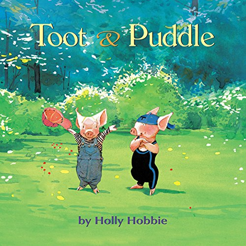Toot & Puddle audiobook cover art