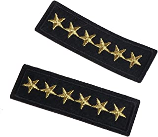 Parche Bordado De Rango Militar Star, Para Prendas De Vestir En Accesorios De Bricolaje