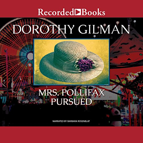 Mrs. Pollifax Pursued audiobook cover art