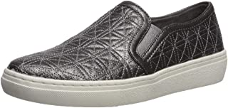 Skechers Womens 73799 Goldie - Distressed Metallic Quilted Slip on