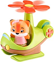 Bandai V700206 Timber Tots by Klorofil-Helicopter with Rachel Figure from The Fox Family-Early Learning pre-School toys-ve...