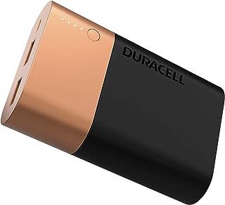 Duracell Powerbank - Cep Telefonu Şarj Aleti, 10050 mAh, Bakır/Siyah