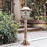 Hammer Pilier Lanterne Antirouille Aluminium Paysage 50 Lumens 42X Chemin Lumineux Lampes de Jardin Lumières Paysage Lumières d'extérieur for Jardinet Jardin Allée