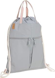 LÄSSIG Rucksack Turnbeutel mit Zugband/Green Label Tyve String bag, grey