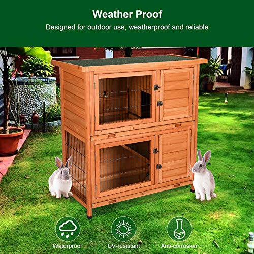 CO-Z TOPNOTCH WEATHERPROOF GUINEA PIG HOUSE