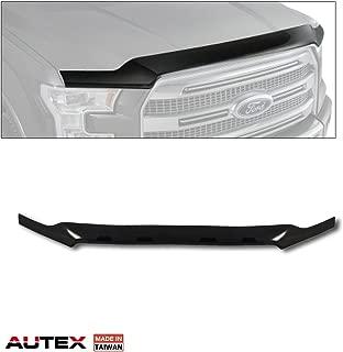 AUTEX Bug Deflector Shield Compatible with Ford F150 2015 2016 2017 Hood Protector Deflector