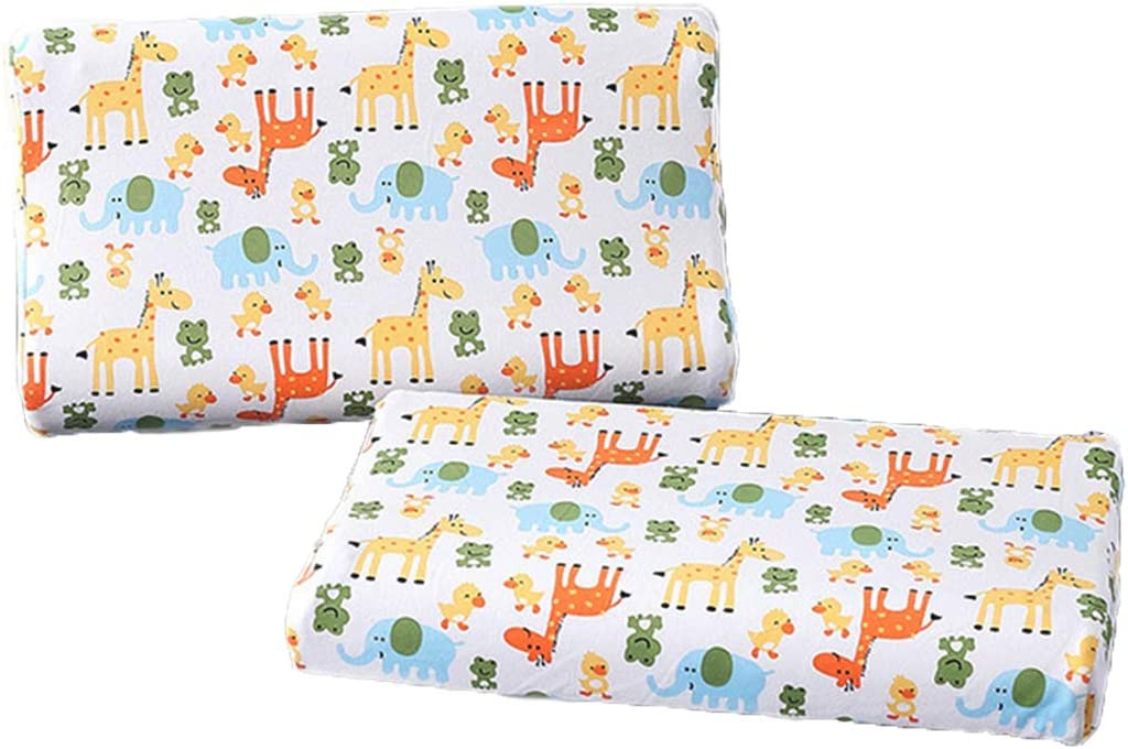 YourGrace Kids Limited time cheap sale Toddler Pillowcases 2 Case Direct stock discount Cotton Pillowslip Pack