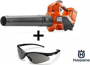 Husqvarna 320iB Handheld 40V Brushless Blower with Cruise Control Bundle w/ OEM Husqvarna Torque Safety Glasses for Eye Protection