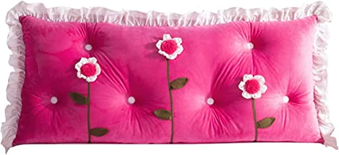 Princess Bed Head Large Cushion Double Pillow Crown Cute Big Back Soft Bag Removable Washable Bed Head Pillow yangain (Col...