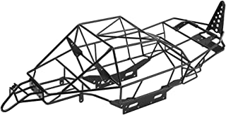 Dilwe RC Car Roll Cage, Metal Chassis Frame RC Car Body Shell Cover for Axial RR10 90048/90053 RC Car Upgrade Parts Accessories(Black)