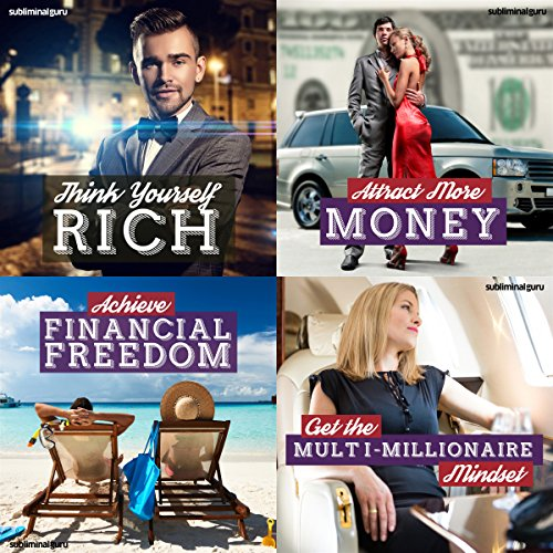 Couverture de Millionaire Mindset Subliminal Messages Bundle