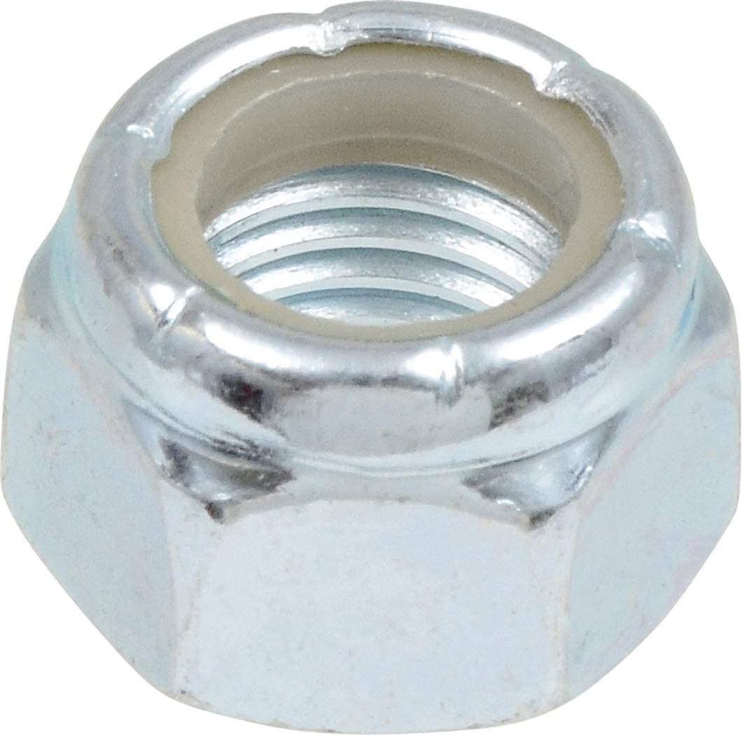 Zinc-Plated Nylon Luxury goods Insert Stop Nut 5 Fine Cheap super special price SAE 8