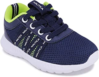 Nautica Kids Toddler Boys Fashion Sneaker Athletic Lace-Up Running Shoe - Rockie (Toddler/Little Kid)