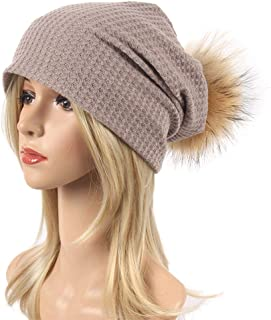 Old DIrd Winter Thick, Soft & Warm Chunky Beanie Hats for Women & Men Snow Knit Ski Bobble Cap