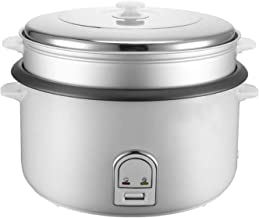 Rijstkoker/steamer non-stick kookpot, stoom gat cover/eenvoudige druk op de knop-10L / 12L / 19L-aluminiumlegering innerli...