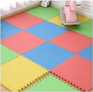WYAYD Soft Floor Foam Puzzle Mat Waterproof Shockproof Soundproof PE Bedroom Children's Room Kids Baby Activity Play Tile...