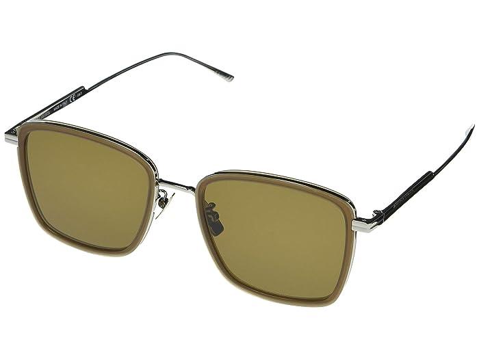 Bottega Veneta  BV1021SK (Brown) Fashion Sunglasses