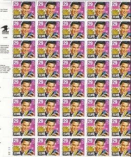 Scott 2721: Elvis Presley - Sheet of Forty 29 Cent Stamps