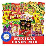 Mexican Candy Mix (90 Count) Assortment of Spicy, Sour and Sweet Premium Candies,Includes Luca Candy, Pelon, Pulparindo, Rellerindo, by Ole Rico