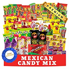 🍭The Mexican Candy Mix has a great 84 count assortment of (SPICY, SWEET, SOUR) candies and snacks. It makes a great gift idea for friends and family or all occasions. 🍭Each delicous candy is hand picked from the most popular dulces and popular brands...