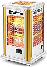 XHMCDZ Calentadores Eléctricos, Hogar de Cinco Lados Calentador Oficina Asar Estufa eléctrica Calentador del Tubo del Cuarzo Todos Ronda Calefactores