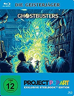 Ghostbusters 1 - Project PopArt/Steelbook [Francia] [Blu-ray]