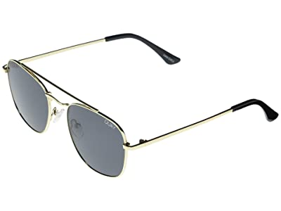 QUAY AUSTRALIA Helios (Gold/Smoke) Fashion Sunglasses