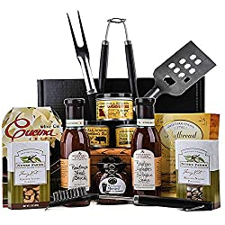 Christmas BBQ Gift Basket