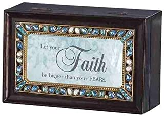 Roman Let Your Faith be Bigger Than Your Fears Insert Small Music Box