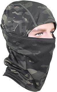 GANWAY Outdoor Black Ski Mask Camouflage Accessories Fishing Hat Camo Sun Balaclava Motorcycle Masks