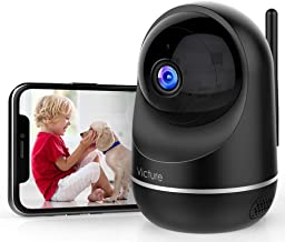 Victure 1080P Pet Camera, Dual Band 2.4/5Ghz , Indoor Security Camera with Two-WayAudio, Motion Detection, Night Vision f...