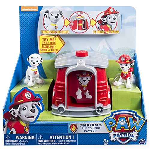 Paw Patrol Spin Master 6026620  Pup Hero Playset (Modell Sortiert)