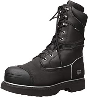 """حذاء Timberland PRO للرجال 53531 Gravel Pit 10"""" صلب مقاوم للماء، أسود، 11 W"""