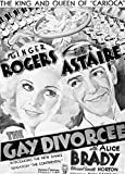 Fred Astaire and Ginger Rogers The Gay Divorcee Film Poster