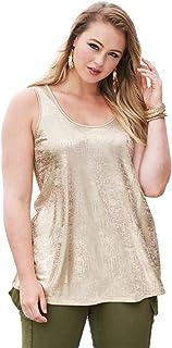 b50293607ecaf Amazon.com  Roamans - Tops   Tees   Plus-Size  Clothing