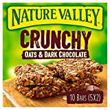 4X Nature Valley Crunchy Oats & Dark Chocolate Cereal Bars 5 x 42g