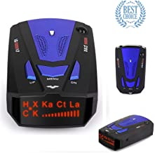 RICHOYY Radar Detector, Voice Prompt Speed, City/Highway Mode Radar Detector for Cars (FCC Certification).