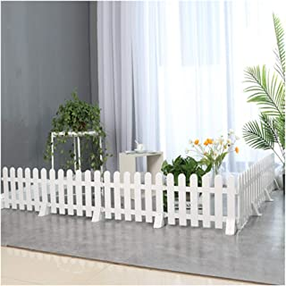 ZHANWEI Garden Fence Picket Fencing Indoor Outdoor Decorative PVC Plastic Animal Barrier - White, 5 Sizes (Color : 50x20cm, Size : 1 PC)