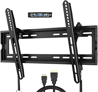 Fozimoa tv Wall mounts Bracket for Most 32-65 Inch tvs, Wall Mount for tv with Swivel articulating arms, Perfect Center De...