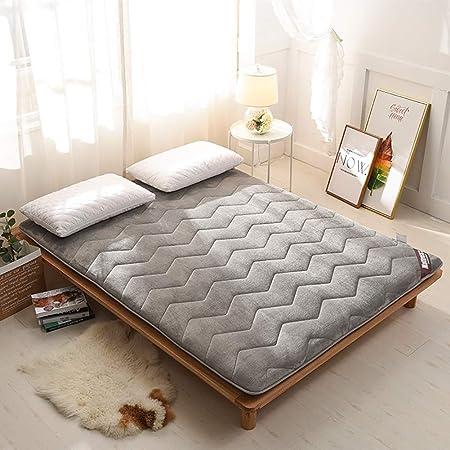 Lcihll Franela Plegable Super Thick Tatami Floor Mat, Futon ...