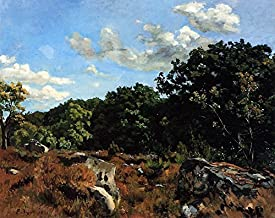 Landscape at Chailly by Frederic Bazille - 20