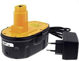Batería para Dewalt Sierra caladora DC330KA 1750mAh Li-Ion cargador incl, 18V, Li-Ion