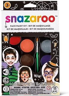 Snazaroo Face Paint Palette Kit, Halloween