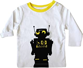 Baby Boys' L/S Robot Top