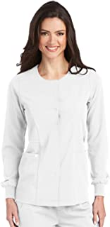 Grey's Anatomy Signature Warm-Up for Women - Super-Soft Medical Scrub Jacket